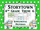 Storytown 4th Grade Theme 6 Printables