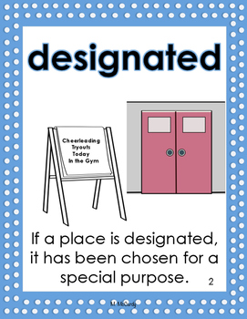 Storytown 5th Grade Robust Vocabulary Posters Theme 1