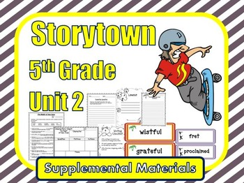 Storytown 5th Grade Theme 2 Common Goals Resources