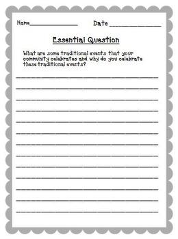 Storytown 5th Grade Theme 2 ~ 2008 version Supplemental Resources