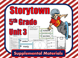 Storytown 5th Grade Theme 3 ~ 2008 version Supplemental Resources