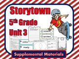 Storytown 5th Grade Theme 3 Printables