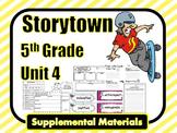 Storytown Grade 5 | Storytown 5th Grade | Theme 4 Printables