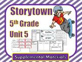 Storytown 5th Grade Theme 5 Printables
