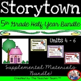 Storytown 5th Grade Theme 4-5-6 Half Year Bundle Resources