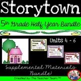 Storytown 5th Grade Theme 4 - Theme 6  Printables Bundle