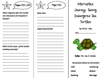 Storytown 5th Grade Unit 5 Trifolds Bundle!