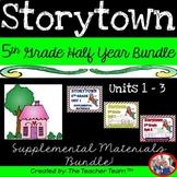 Storytown 5th Grade Theme 1 - Theme 3 Printables Bundle