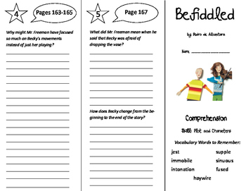 Storytown 6th Grade Unit 2 Trifolds Bundle!