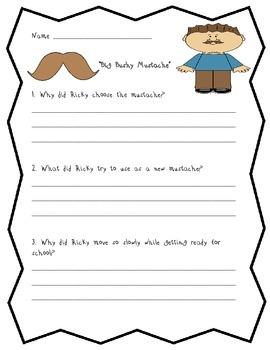 Storytown Comprehension Tests 11-14