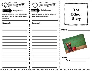 Storytown GRADE 5 THEME 4 BUNDLE Lessons 16-20