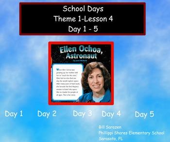Storytown, Gr 3, Lesson 4, Ellen Ochoa, Astronaut