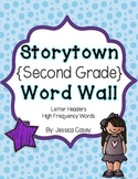 Storytown 2nd Grade Word Wall - High Frequency Words