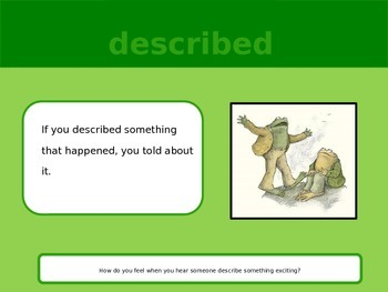 Storytown Grade 2 Lesson 2 Vocabulary Powerpoint