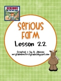 Storytown 2nd Grade Lesson 22:Serious Farm Supplementals