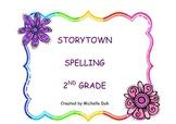 Storytown Grade 2 Spelling Center Activity