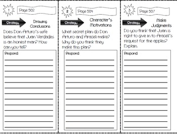 Storytown Grade 4 Comprehension Trifolds Bundle (ENTIRE COLLECTION- 30 TRIFOLDS)