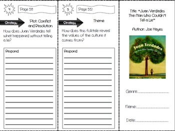 Storytown Grade 4 Comprehension Trifolds Bundle (ENTIRE CO