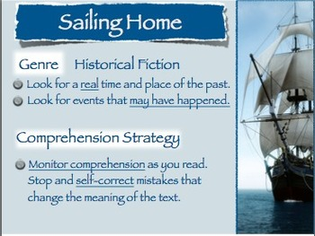 """Storytown Grade 5 Lesson 11 """"Sailing Home"""" Weekly PowerPoint"""
