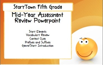 Storytown Grade 5 Mid-Year Assessment Review PowerPoint