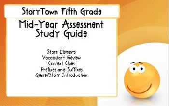 Storytown Grade 5 Mid-Year Assessment Study Guide
