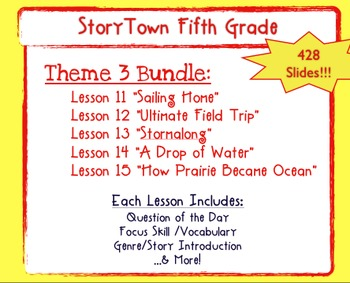 Storytown Grade 5 Theme 3  Weekly PowerPoints