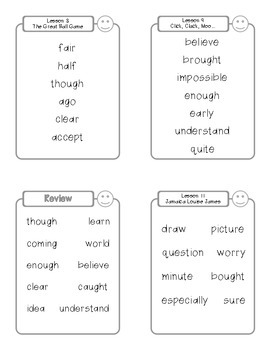 Storytown High-Frequency Words Book