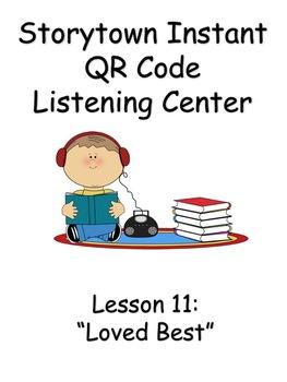 Storytown Instant QR Code Listening Center, Loved Best