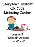 Storytown Instant QR Code Listening Center, Schools Around