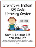 Storytown Instant QR Code Listening Center, Unit 1 **BUNDLE**