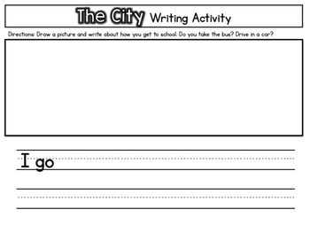 Guided Reading Pack: Storytown Kindergarten Book 5 The City