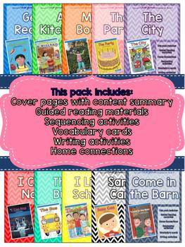 Guided Reading Packs: Storytown Kindergarten Books 1-10