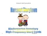 Storytown Kindergarten Inventory Unit Sight Word Cards