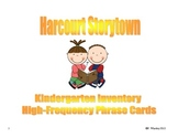 Storytown Kindergarten Sight Word Phrase Cards