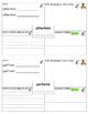 Storytown Lesson 1 Robust Vocabulary Graphic Organizer - No Prep