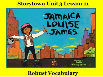 Storytown Lesson 11 Vocabulary Powerpoint - Grade 2