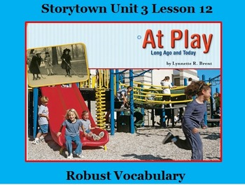 Storytown Lesson 12 Vocabulary Powerpoint - Grade 2
