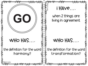 Storytown Lesson 14 Vocabulary Game [3rd Grade]