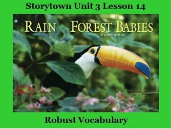 Storytown Lesson 14 Vocabulary Powerpoint - Grade 2