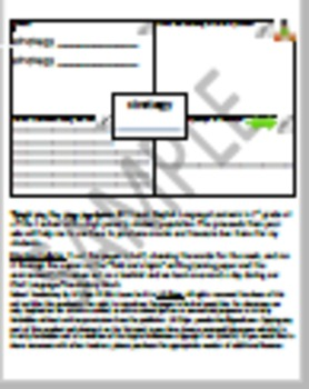 Storytown Lesson 20 Robust Vocabulary Graphic Organizer - No Prep