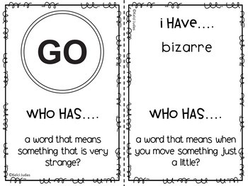 Storytown Lesson 29 Vocabulary Game [2nd Grade]