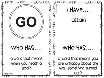 Storytown Lesson 4 Vocabulary Game