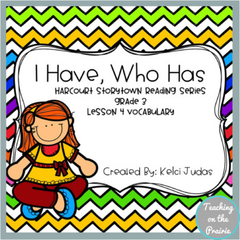 Storytown Lesson 4 Vocabulary Game 3rd Grade