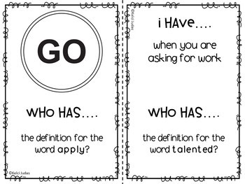 Storytown Lesson 4 Vocabulary Game [3rd Grade]