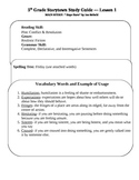Storytown Lesson 5th Grade Study Guides