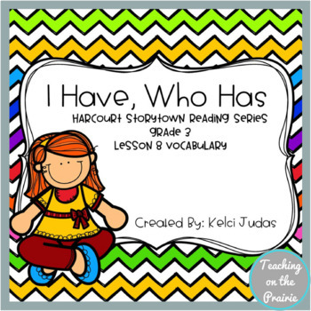 Storytown Lesson 8 Vocabulary Game [3rd Grade]