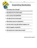 Storytown Lesson 9 Expanding Vocabulary Worksheet - Grade 2