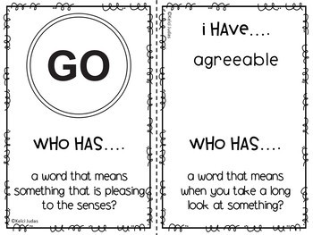 Storytown Lesson 9 Vocabulary Game [3rd Grade]