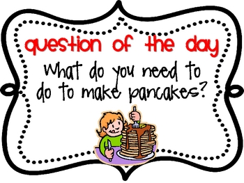 Storytown Question of the Day Theme 6