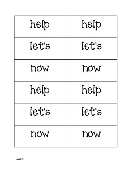 Storytown Sight Word Flashcards